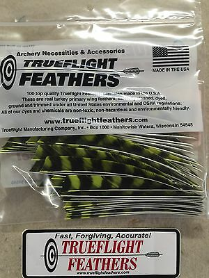 Trueflight 5 inch Feathers Left Wing Shield 50 pack Brown Barred