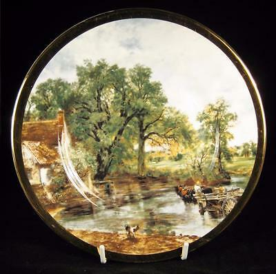 Elizabethan John Constable 'Hay Wain' Fine Bone China Display Plate