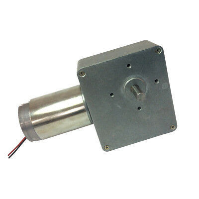High-torque DC Worm Gear Motor 12V 1.5RPM Speed Reducer 90 Degree Right Angle