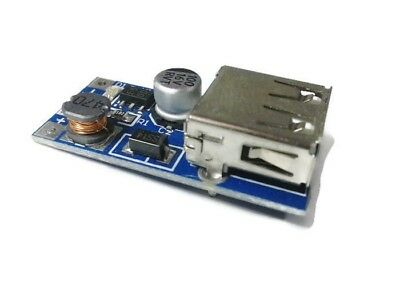PFM DC 0.9V - 5V USB Boost Step-up Power Supply Converter Blue