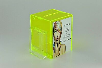 Suggestion Box / Comment Ballot Charity Collection Box PDS9470 - various colours