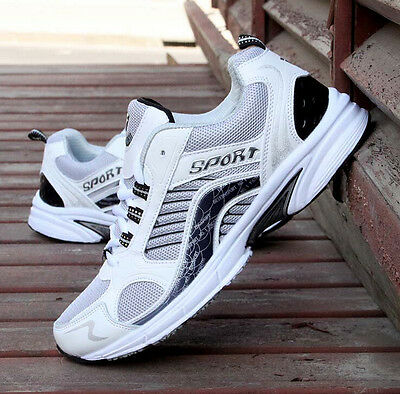 NEW RUNNING TRAINERS Men's WALKING SHOCK ABSORBING SPORTS OUTDOOR RUNNING SHOES