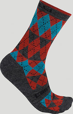 Castelli Diverso Cycling Sock - Red