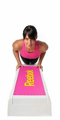 Reebok Color Line Step Steppbrett Stepper Fitness Workout inkl. DVD magenta