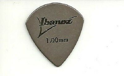 Ibanez Lot De 2 Mediators Plastique Marron 1.00 Mm