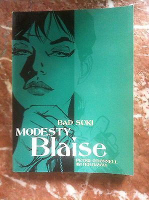Modesty Blaise  Bad Suki O'donnel/holdaway Softcover Very Fine  (B14)