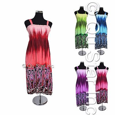 Wholesale lot of 20X Brand New Mixed Women Short and Long Dress Maxi Beach Dress