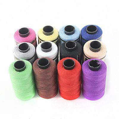 12 Colour Polyester Reel Spools Sewing Yarn Heavy Duty All Purpose Thread