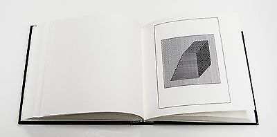 Sol LeWitt: Ficciones,1984. Signed, Numbered, Hand Tipped Artist Book.