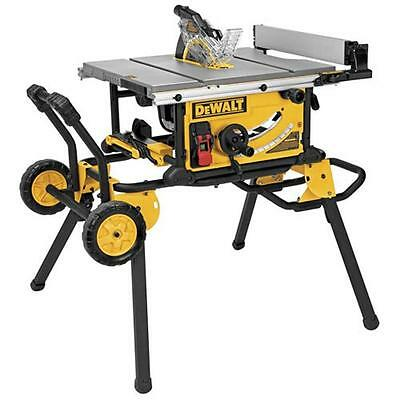 Dewalt DWE7491RS 10 in. Jobsite Table Saw with Rolling Stand