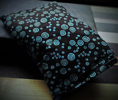 Microwavable Therapeutic Corn Bag Heating Pad with Removable Cover - 9 x 6.5 in.