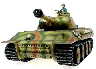 Taigen Hand Painted RC Tanks - Metal Upgrade - Panther - 2.4GHz