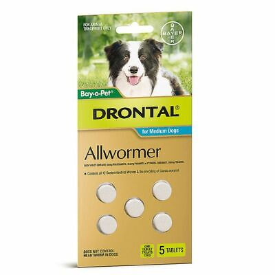 Drontal 10kg Tablets pack of 5