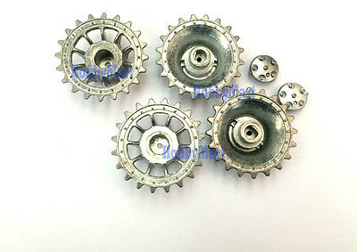Heng Long 3818-079 METAL DRIVE WHEELS for 1/16 3818 RC Tank Replacement x 1 PAIR
