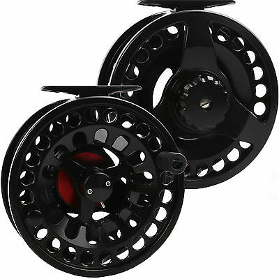 Maxcatch Best Die-casting Fly Reel 3/4/5/6/7/8/9/10WT Aluminum Black Fly Fishing