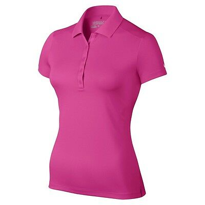 NIKE Ladies Tour Performance Victory Polo Hot Pink Size XXLARGE  BNWT