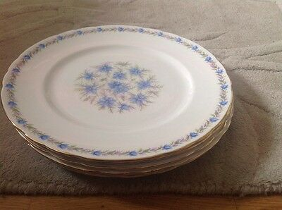 REDUCED 5 Dinner Plates by Tuscan Love in the Mist Pattern.