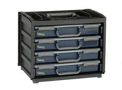 RAACO 136242 Portable Handybox 25kg Load Capacity With 4 Removable Trays