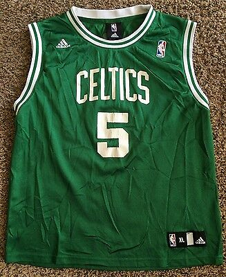 542886b693dd Kevin Garnett  5 Boston Celtics Adidas Jersey Size Youth Xl Nba Basketball