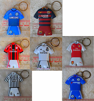 kiTki us football soccer league club sponge keychain chain ring souvenior