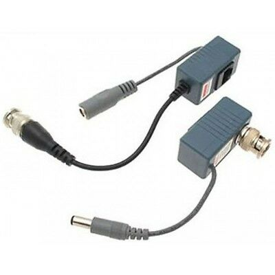 Starview SV BNC Coax  Balun Audio Video Power over Transceiver Cable to DVR