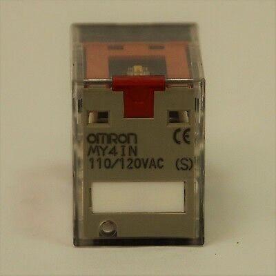 Omron My4In 110/120Vac Plug In Relay - New Old Stock