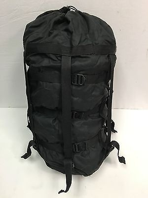 US Military 9 Strap Compression Stuff Sack Sleep System Black USGI TENNIER GC