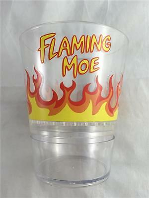 NEW Simpsons Flaming Moe Universal Studios Moe's Tavern Dry Ice Cup