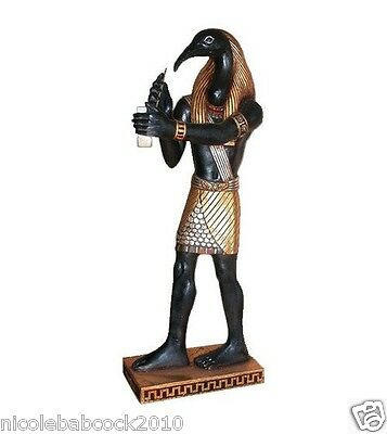 "37.5"" ANCIENT Egyptian God of Writers storytellers weigher of souls 3 ft statue"