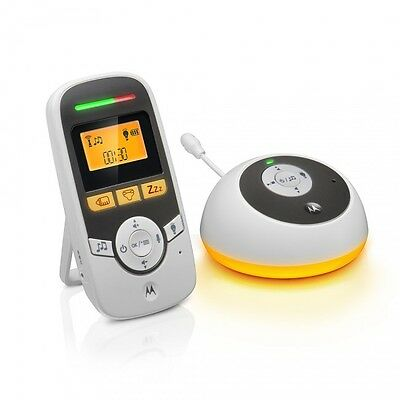 Motorola Mbp161 Digital Audio Baby Monitor 1.8Ghz With Lcd Display & Temperature