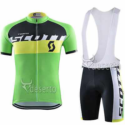 CU-972 New men cycling jeresy Cycling clothes + bib shorts set Race Fit GEL PAD