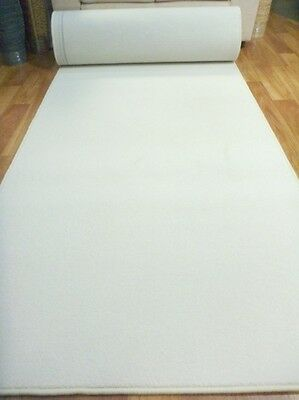 White Cloud Carpet Wedding 1.2m x10m Event Runner