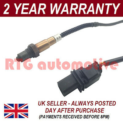 Front 5 Wire Wideband Oxygen Lambda O2 Sensor For Peugeot 308 + Sw 1.6 16V 07 On