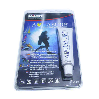 Aquasure-Kleber McNett 28g Urethan Glue Neopren Bladder Repair (100g=42,86 EUR)