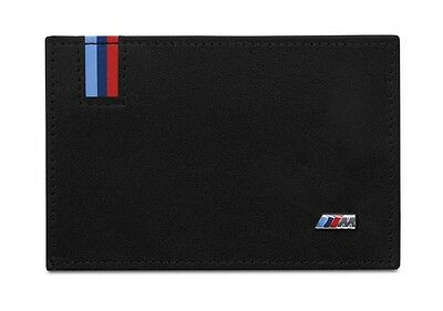BMW Genuine M Collection Business Card Case Cards Holder Leather 80212410936