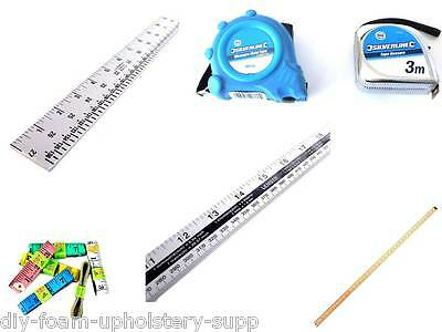 Wooden Metal metre yard stick dual marked Tape measure tailor soft cloth measure