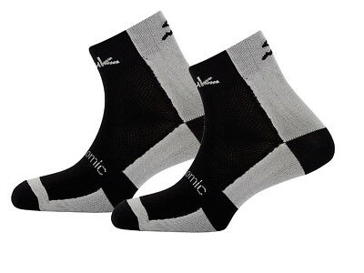 PACK 2 PARES CALCETINES ANATOMIC MEDIO negro / gris Talla 40/43