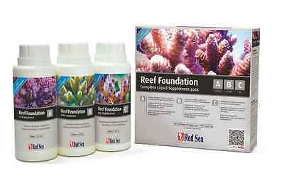Red Sea Reef Foundation ABC Complete Liquid Supplement Pack 3 x 250ml