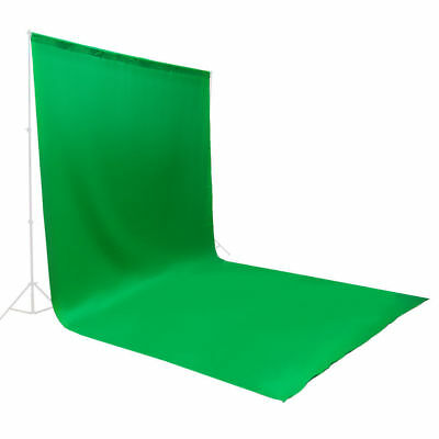 10 ft x 20 ft Polyester Green Screen Muslin Backdrop Photo Photography Washable