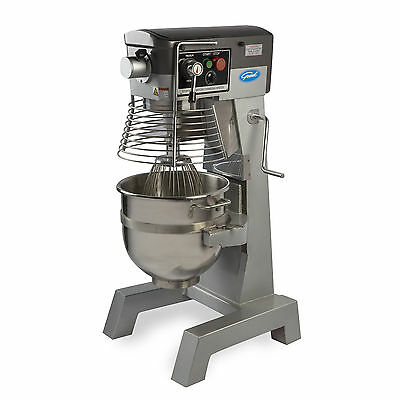 General GEM130 Free-Standing All-Purpose Mixer w/ 30-Quart Stainless-Steel Bowl