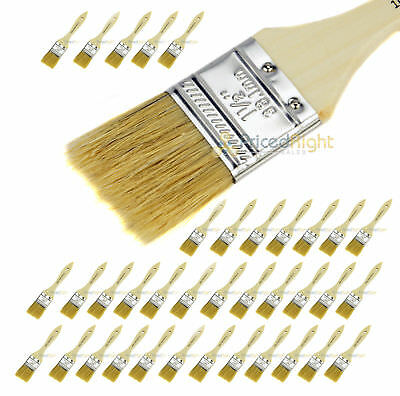 """1.5"""" Chip Brush Brushes Disposable Adhesive Paint Glue Glass Resin Crafts 36"""