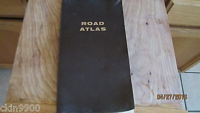 Vintage 1967 Road Atlas Of The United States Canada & Mexico With Mileage Guide