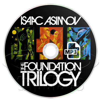 Isaac Asimov - The Foundation Trilogy (MP3 CD) (Audiobook / Audio Book)