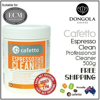 ECM 500g Espresso Coffee Machine Cleaner Profesional Cleaning Powder by Cafetto