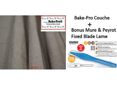 Bake-Pro Bakers Couche, Size large, bread proofing cloth  Imported from France