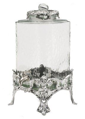 Arthur Court Fleur De Lis 2-1/2-Gallon Beverage Server