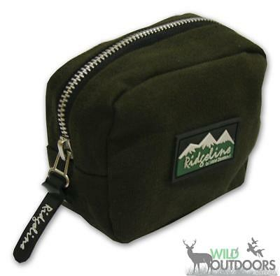 Ridgeline Canvas Belt Pouch with Bullet Storage, Small RLAACO1