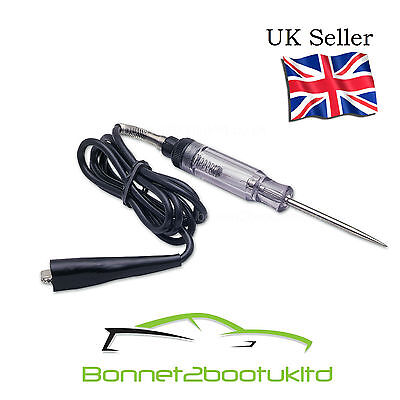 Laser Quality Automotive Circuit Tester Heavy Duty 6-24 Volt Light radio Circuit