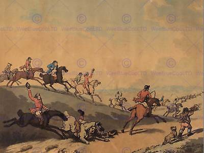 THOMAS ROWLANDSON BRITISH MODERN ANTIQUES OLD ART PAINTING POSTER BB6437A