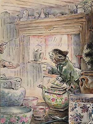 Helen Beatrix Potter Where Is My Twist Art Print Poster Picture Hp360
